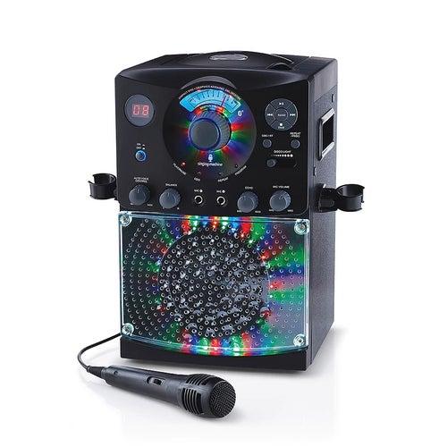 Karaoke Bluetooth et lumières - Noir (20)