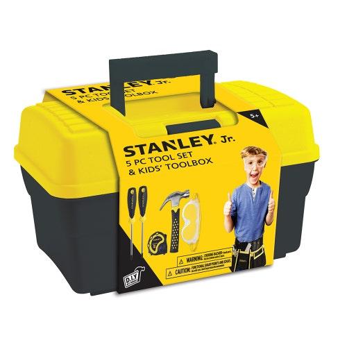 Stanley Jr. - Ensemble Coffre et 5 outils