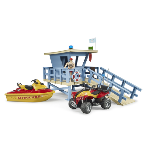 bworld Life Guard Station w Quad and personal wate