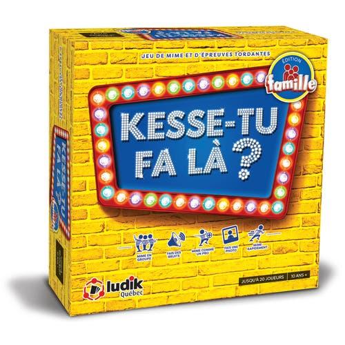 KESSE-TU FA LA? ED. FAMILLE