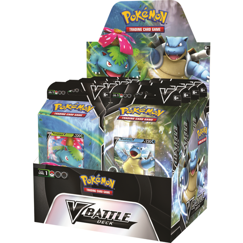 Pokemon Battle Decks Venusaur V/Blastoise