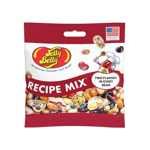 JELLY BELLY RECETTE 100G