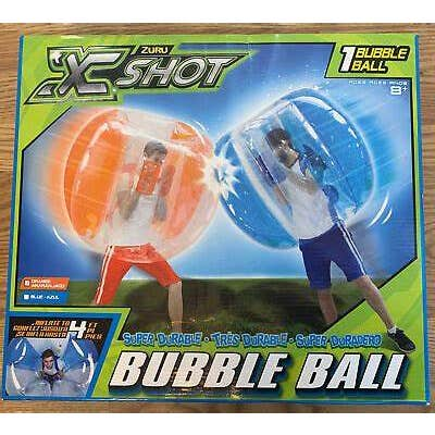 X-SHOT BUBBLE BALL (un par boite couleur assortie)