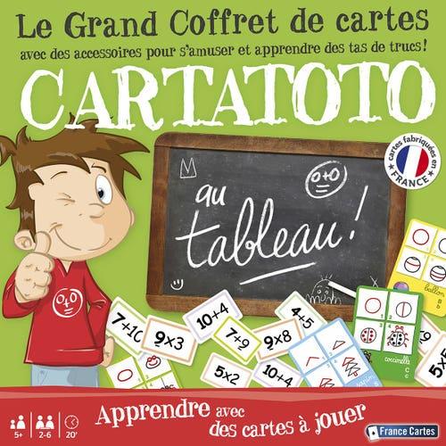 Js Cartatoto Au Tableau- Coffret 3 Jeux Et Acc.