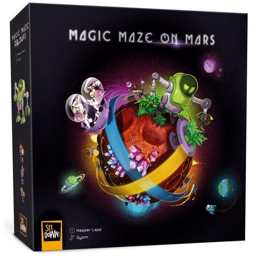JS MAGIC MAZE ON MARS