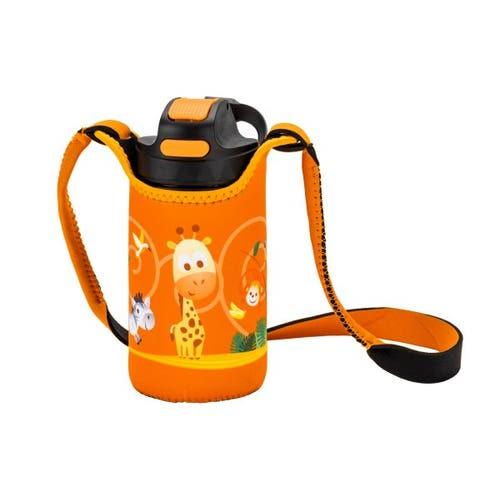 Bouteille 15 oz Nero Emma Junior pochette Orange