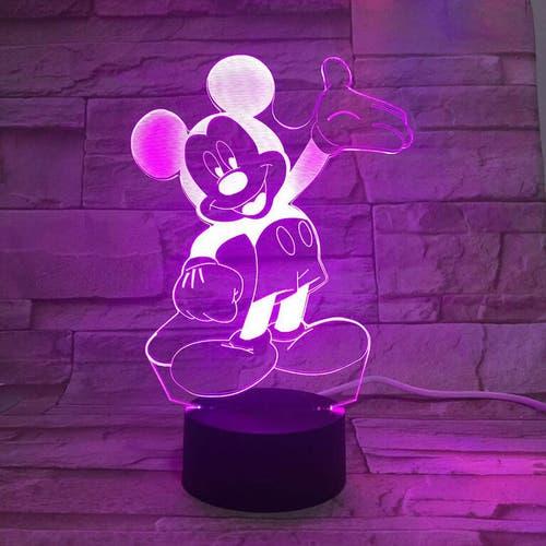 Veilleuse 3D Mckey Mouse
