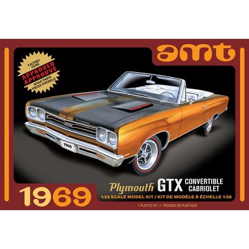 MC PLYMOUTH GTX CONVERTIBLE 1969 1/25