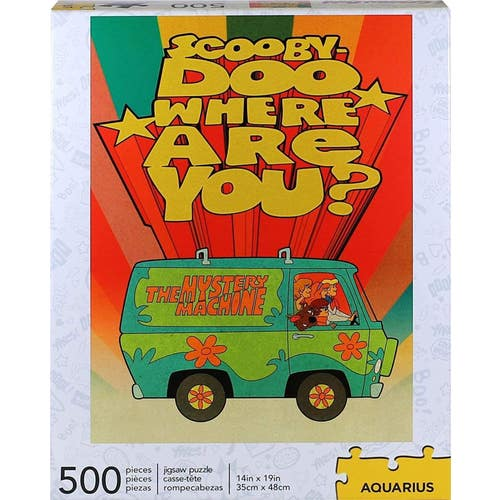 Casse-tête 500 morceaux Scooby Doo Where are you