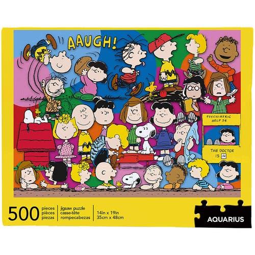 Casse-tête 500 morceaux Peanuts