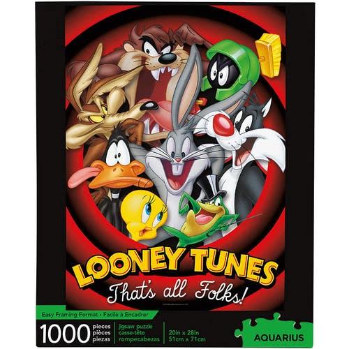 Casse-tête 1,000 morceaux Looney Tunes
