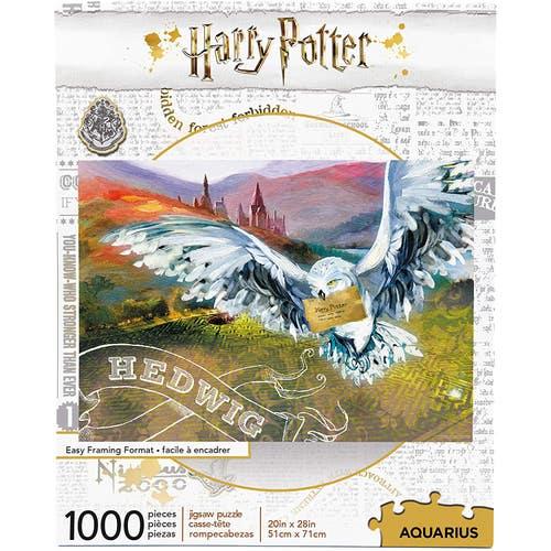 Casse-tête 1,000 morceaux Harry Potter Hedwig