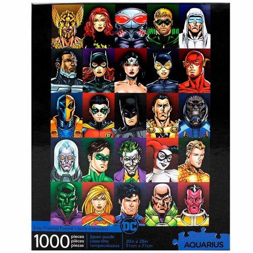 Casse-tête 1,000 morceaux DC Faces