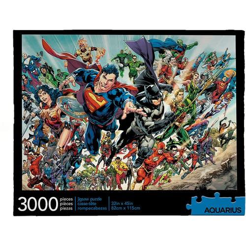 Casse-tête 3,000 morceaux DC Comics Cast